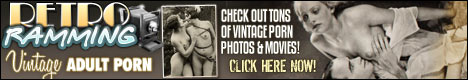 Retro Ramming presents quite exciting and seductive porn actions of past time